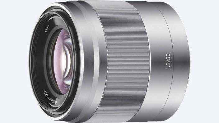 Sony 50 mm f/1.8 objektiiv
