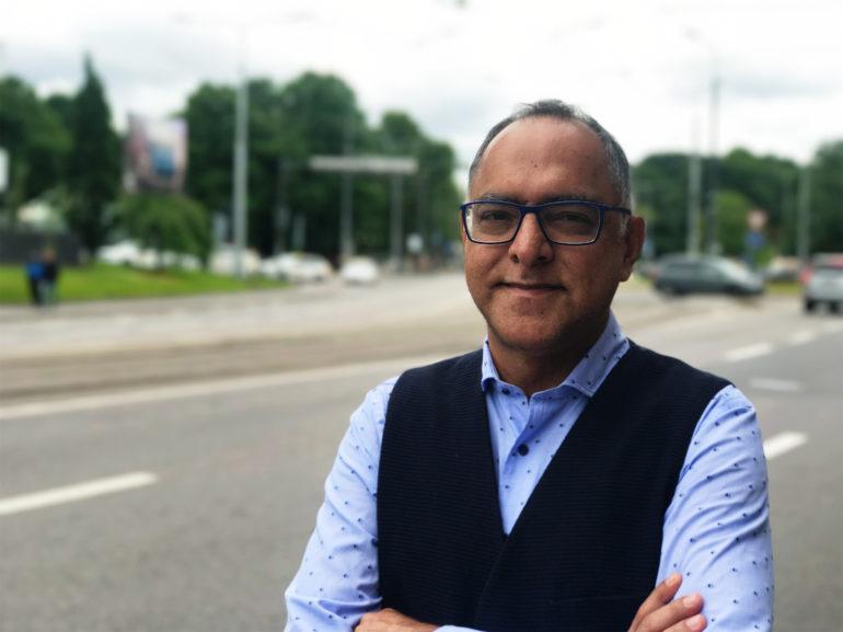 f9c5117d59a Sonny Aswani ütleb, et Eestis jalad alla saanud idufirmadel oleks  potentsiaali Aasias, kus on miljoneid noori tehnikateadlikke inimesi. Foto:  Hans Lõugas