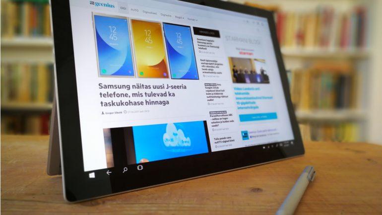 79e346bf7f2 Surface Pro 4: tahvelarvuti, mis suudab olla sinu ainus seade ...