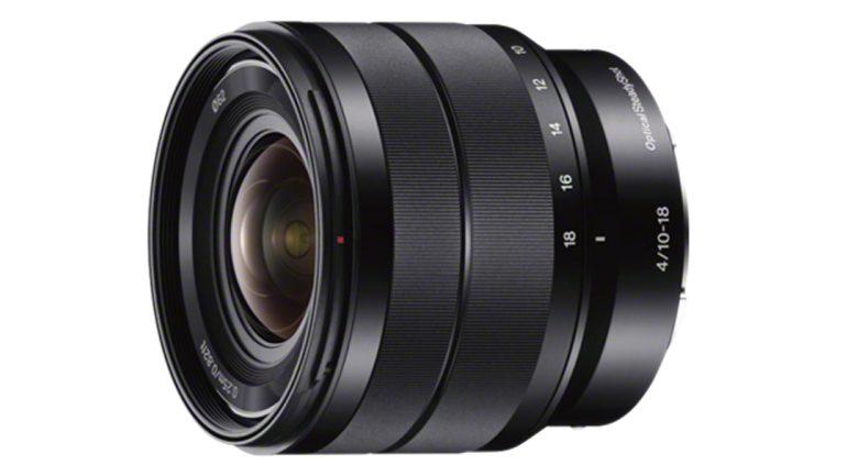 Sony 10-18mm f/4 OSS lainurk-suumobjektiiv