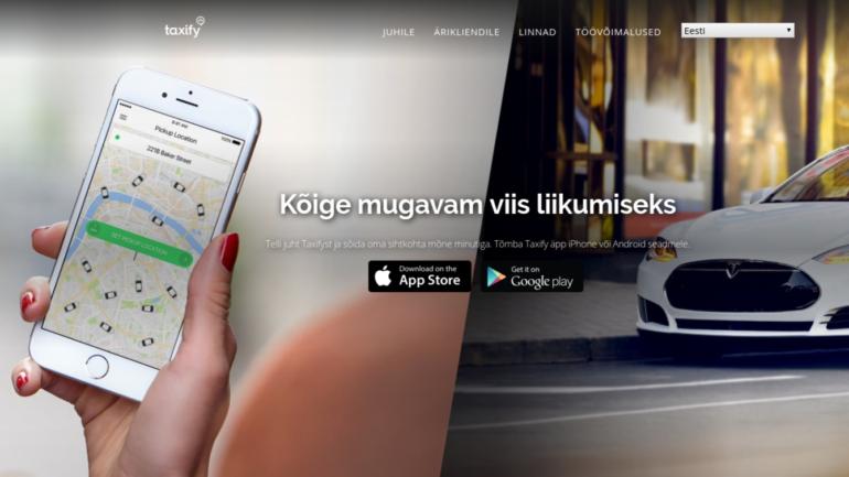 a4cc188d57b Taxifyl on Tallinnas uus teenus, sel puhul on sõit täna 30 protsenti odavam