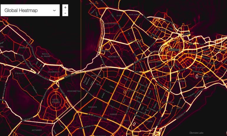 177adcbc278 Äge interaktiivne kaart näitab, kus inimesed kõige rohkem treenivad ...