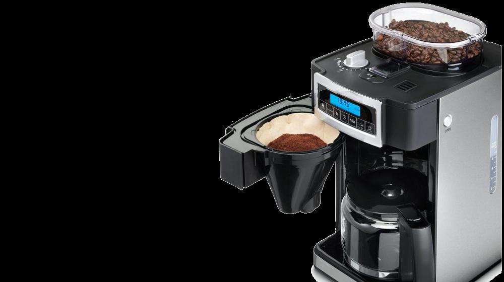 Aroomirikas filtrikohv tee kohvikombainiga värsketest ubadest