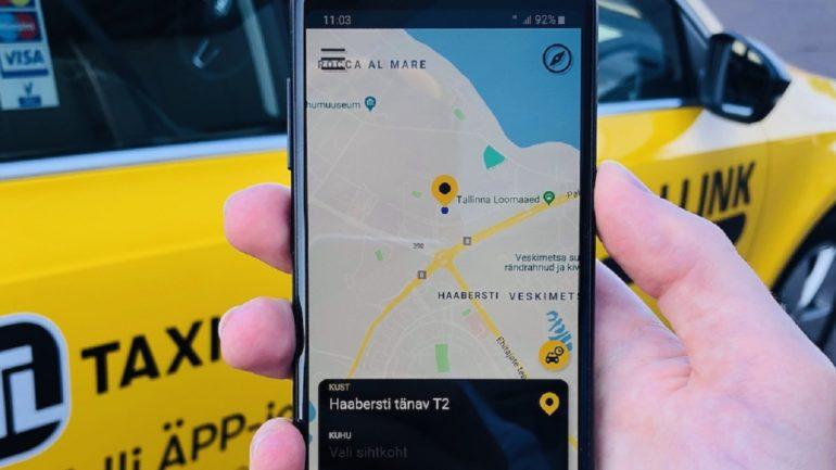2c431756afe Eestis on nüüd juures uus suur, traditsioonilistele taksodele mõeldud  taksoäpp