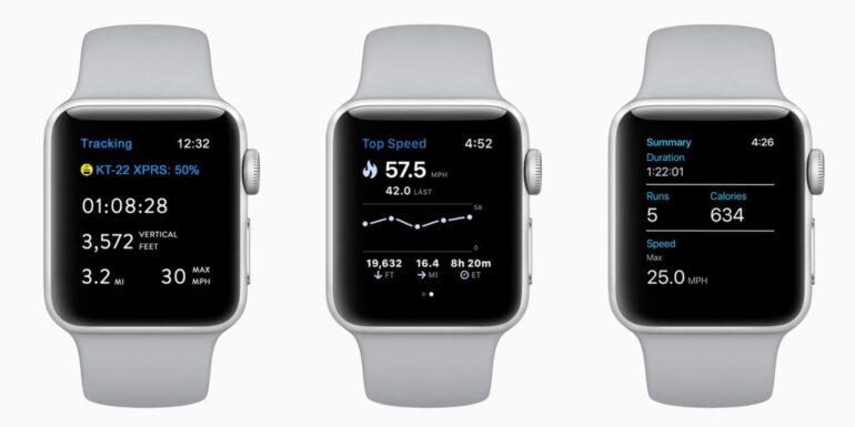 pulksteņi slēpošanai Apple